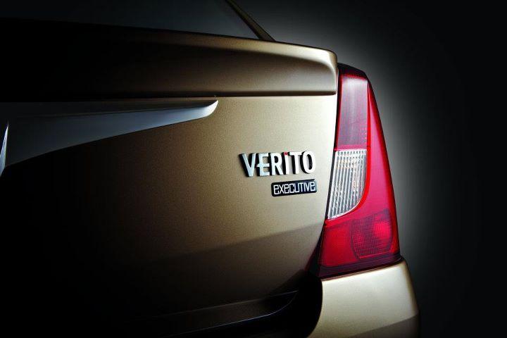 Mahindra Verito Executive Edition badge