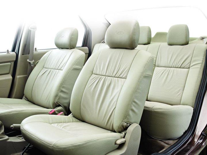 Mahindra Verito Executive Edition front seats