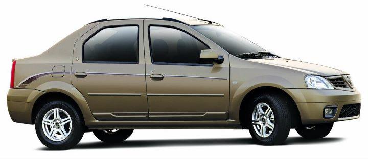 Mahindra Verito Executive Edition brown