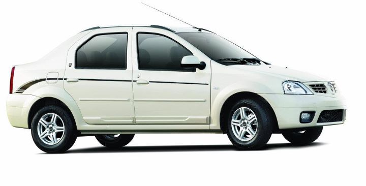 Mahindra Verito Executive Edition white