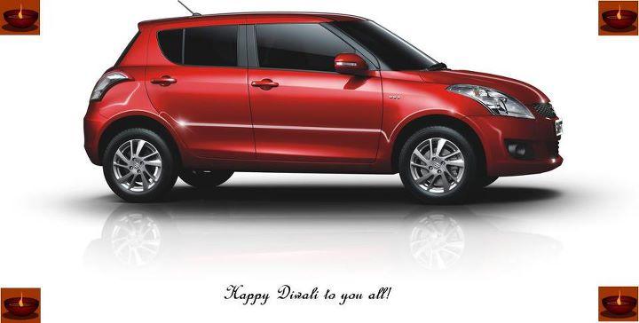 Maruti Swift Happy Diwali