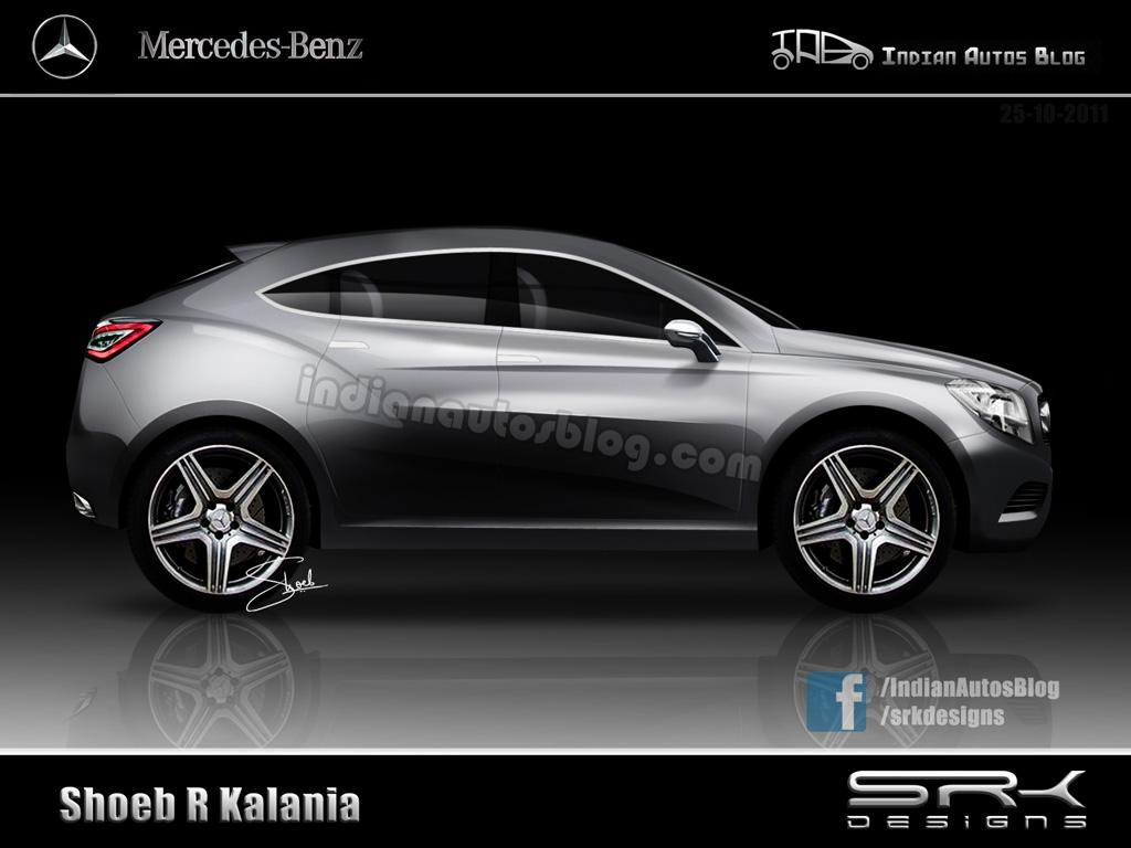 Mercedes BLC concept or Mercedes GLC concept