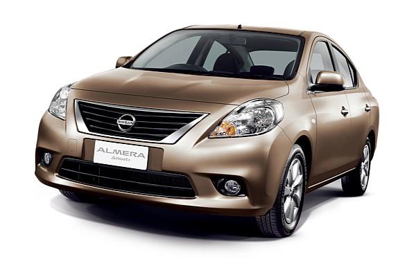 Nissan Almera front