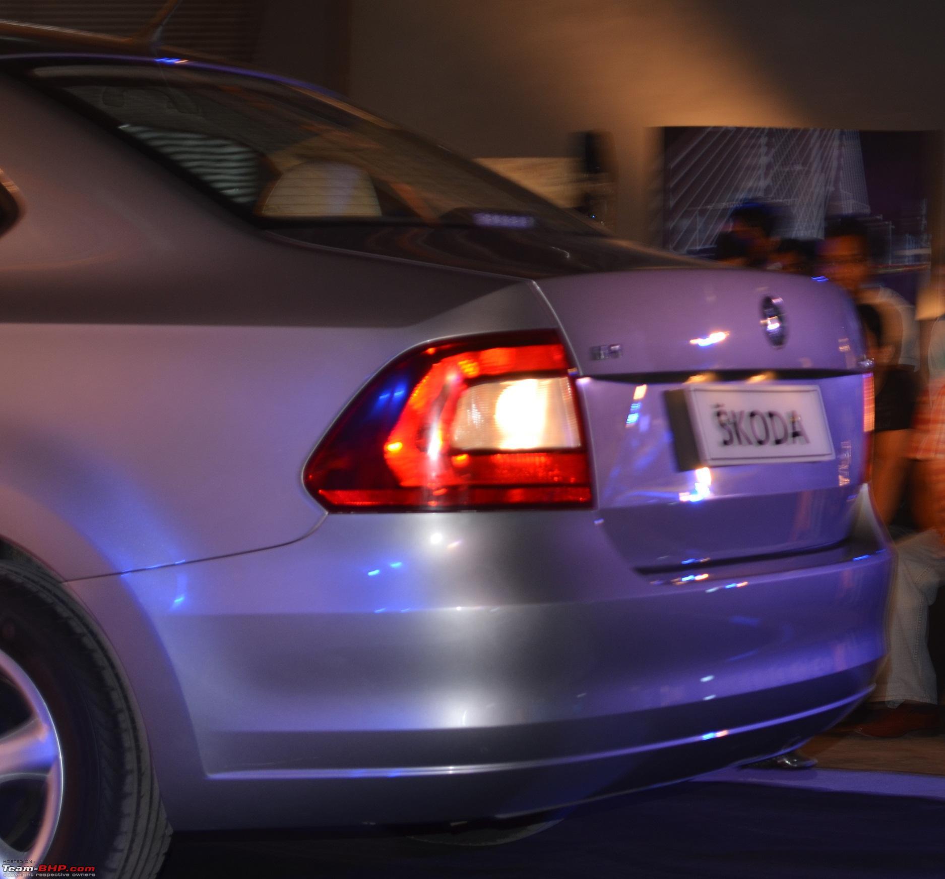 Skoda Rapid rear