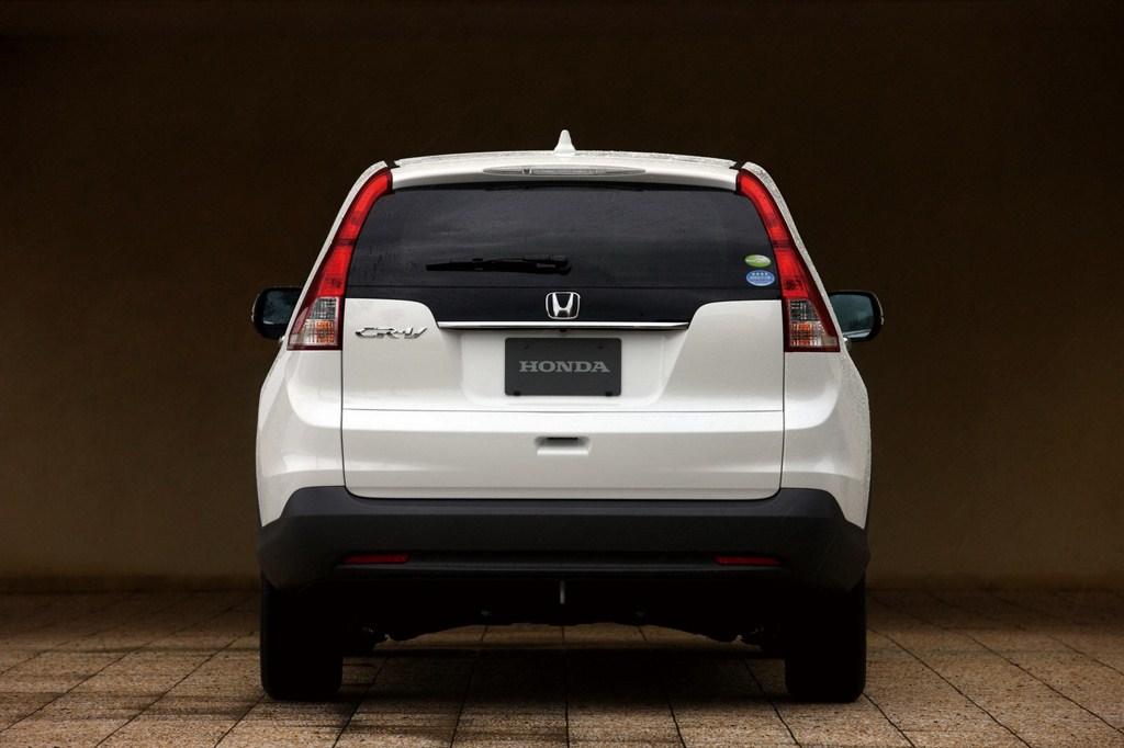 2012 Honda CR-V rear profile