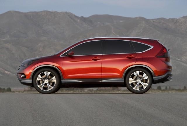 2012 Honda CR-V concept side profile