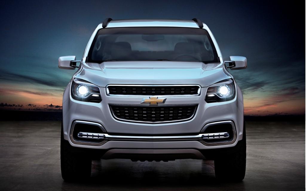 Chevrolet Trailblazer front-end