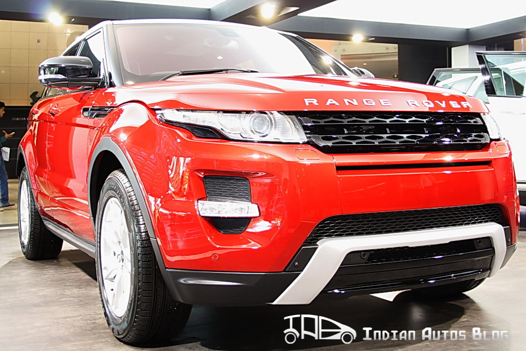 Range Rover Evoque Pictorial Review Hot From Launch Floor
