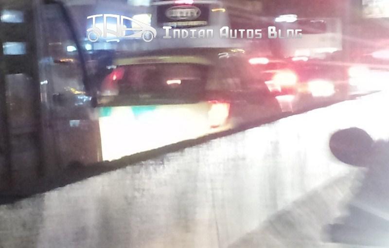Kia Picanto spotted in Chennai India