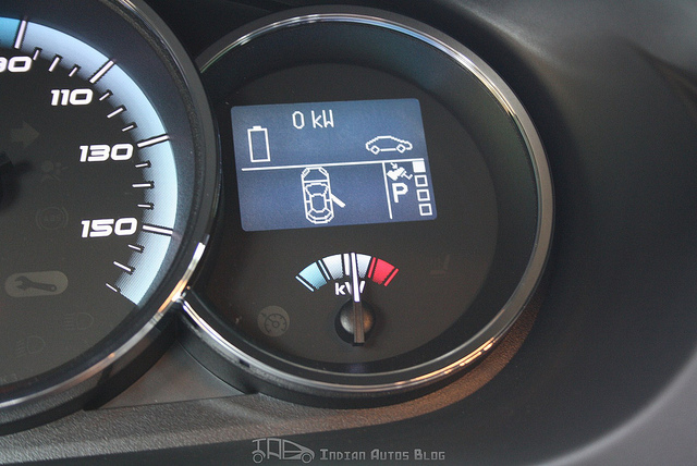 Renault Fluence electric meter
