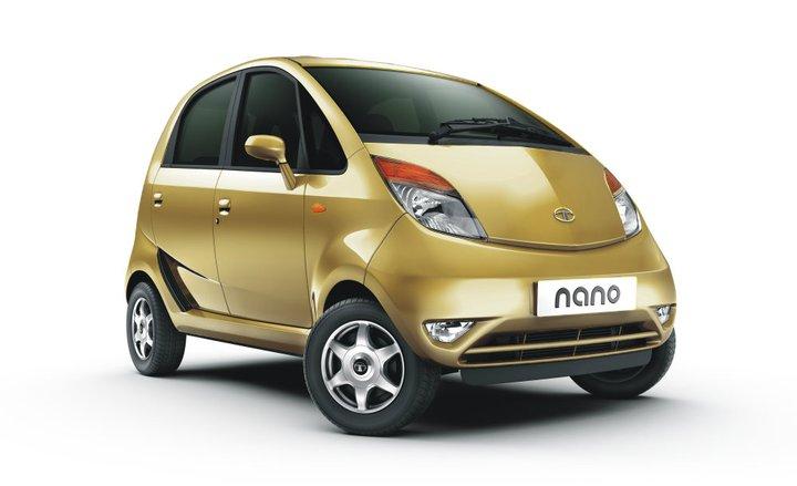 Tata Nano Champagne Gold