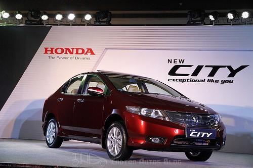 Honda City facelift picture