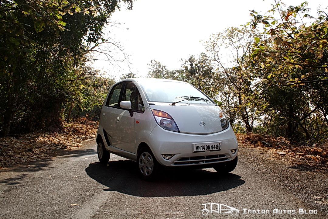 2012 Tata Nano front