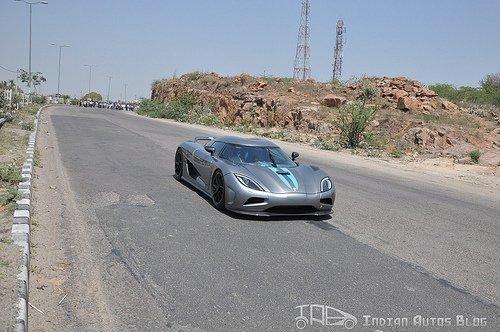 Koenigsegg Agera India
