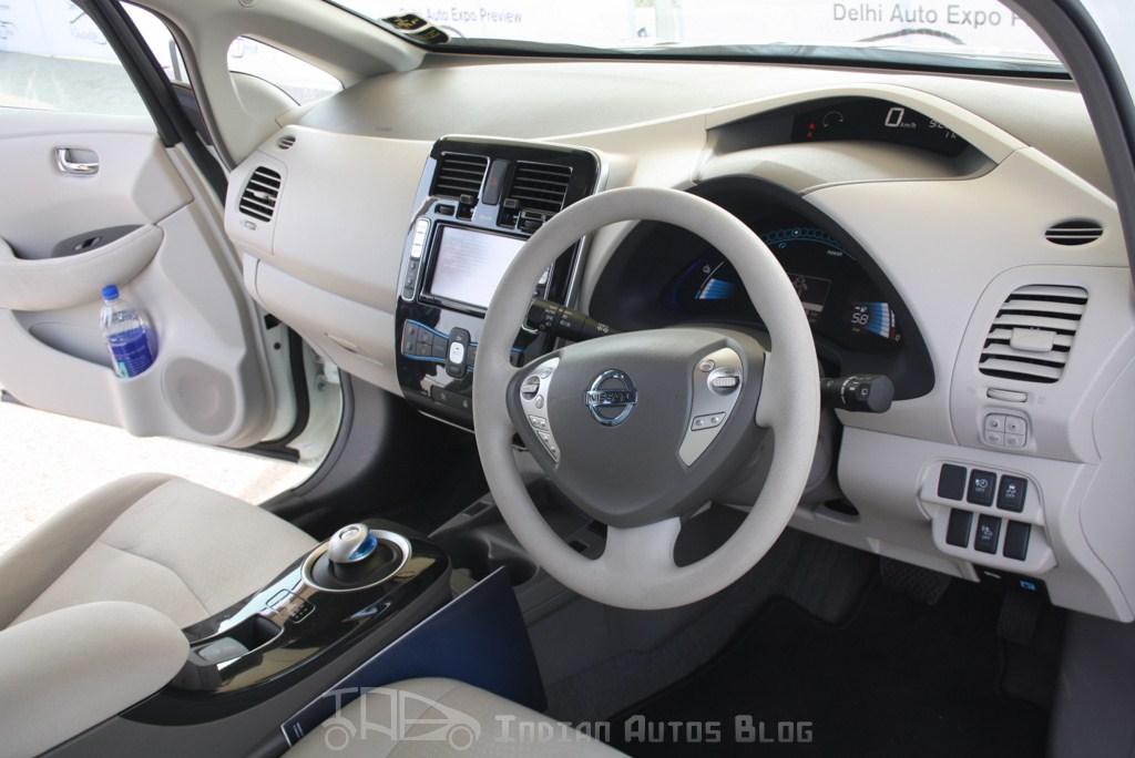 Nissan Leaf interiors