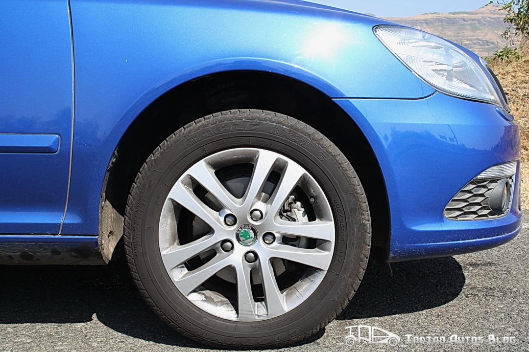 Skoda Laura vRS draconis wheels