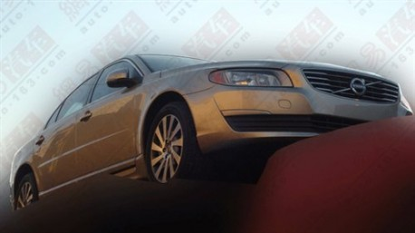 Volvo S80 facelift front end