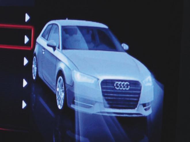 2013 Audi A3 hatch front view