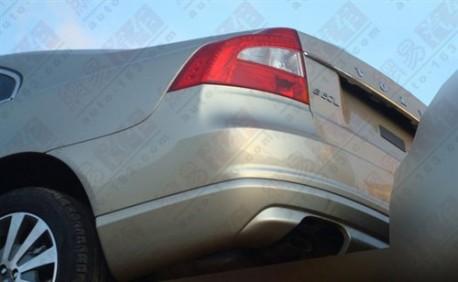 Volvo S80 facelift rear