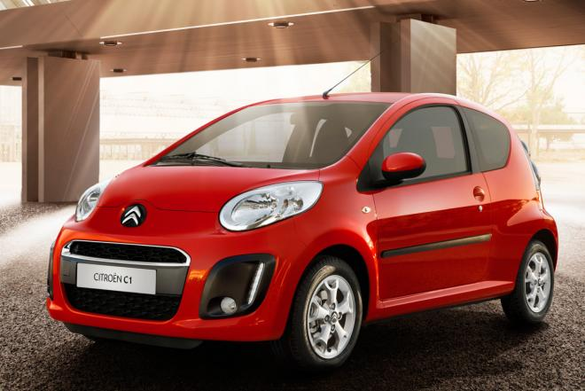 Citroen C1 small car