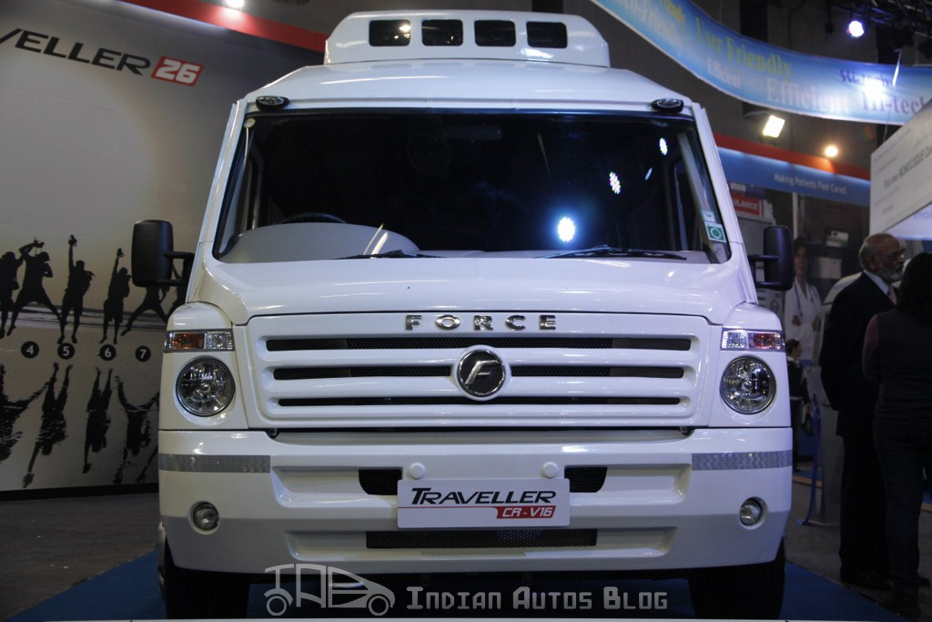 Force Traveller-26 front fascia