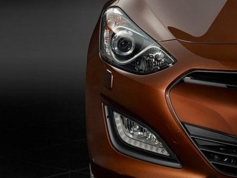 Hyundai i20 facelift front end