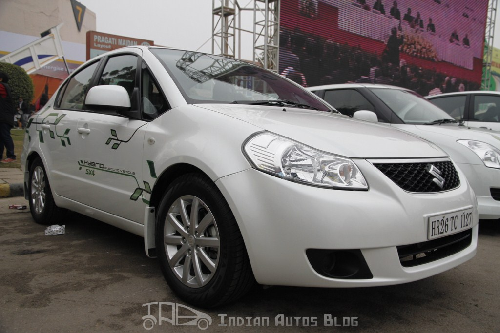 Maruti SX4 hybrid front three quarters