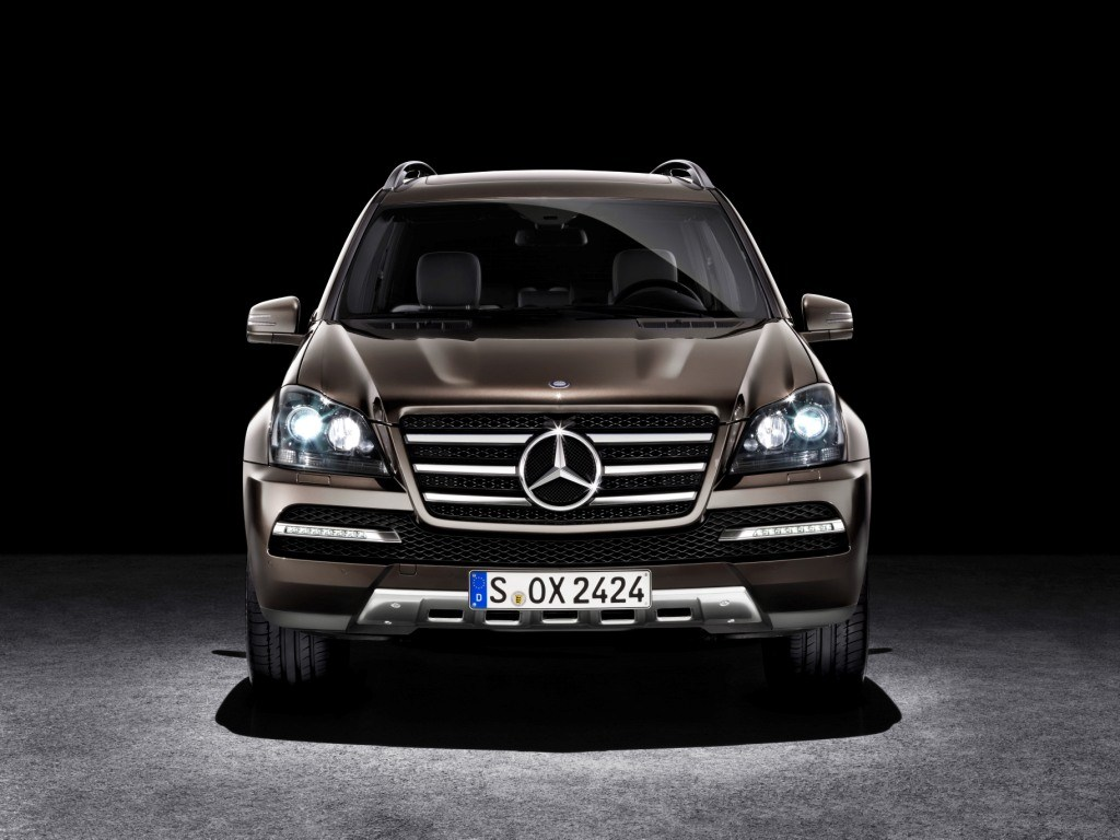 Mercedes GL-Class Grand Edition front view