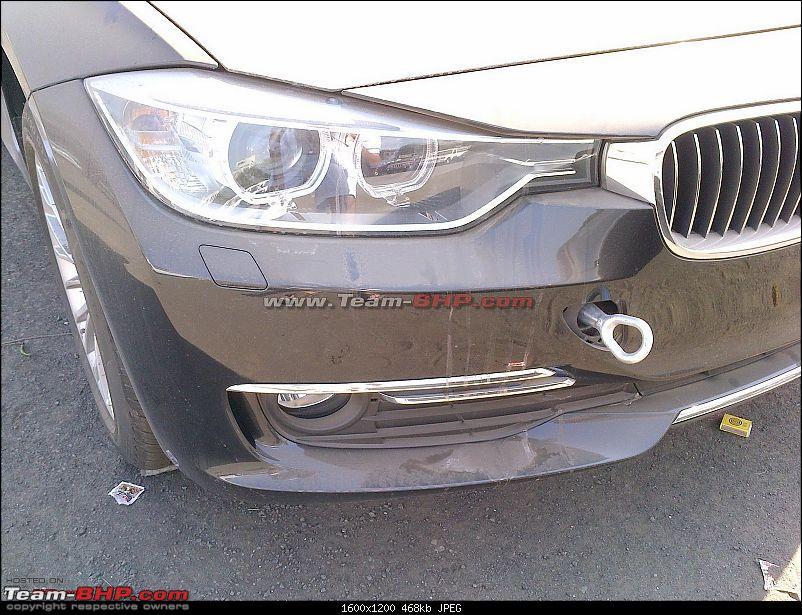 New BMW 3 series F30 headlamps