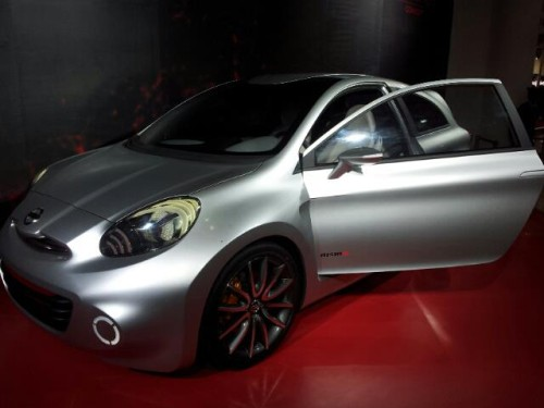 Nissan Compact Sport Concept at Auto Expo 2012
