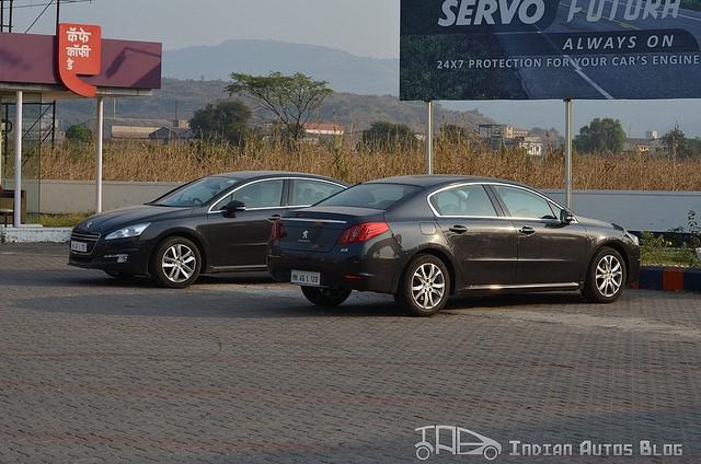 Peugeot 508 spotted by shridip yajnik