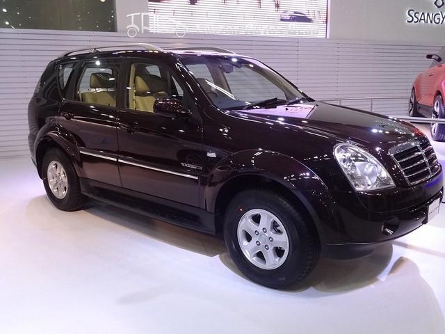 Ssangyong Rexton Auto Expo 2012