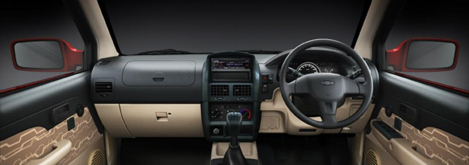Chevrolet Tavera Neo3 dashboard