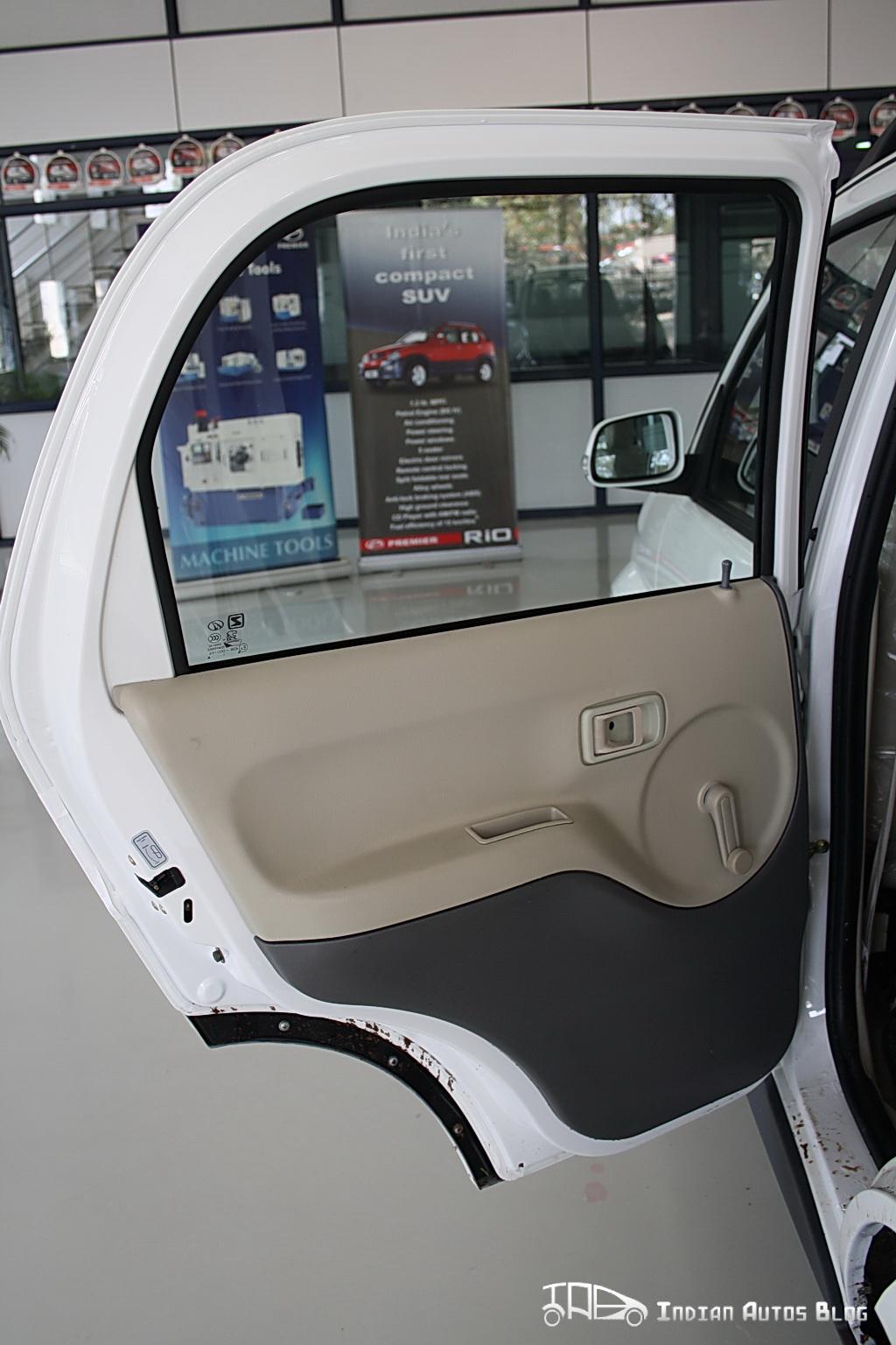 Premier Rio+ rear door