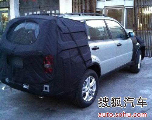 Ssangyong Rexton facelift rear profile