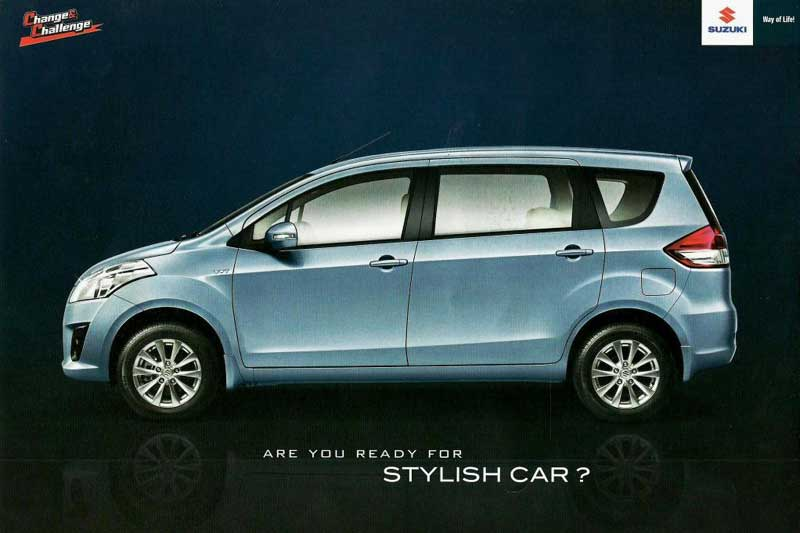 Suzuki Ertiga Indonesia marketing material