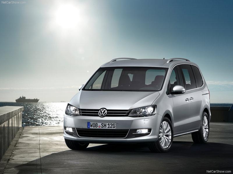 Volkswagen Sharan front