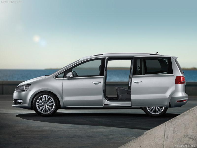 Volkswagen Sharan side