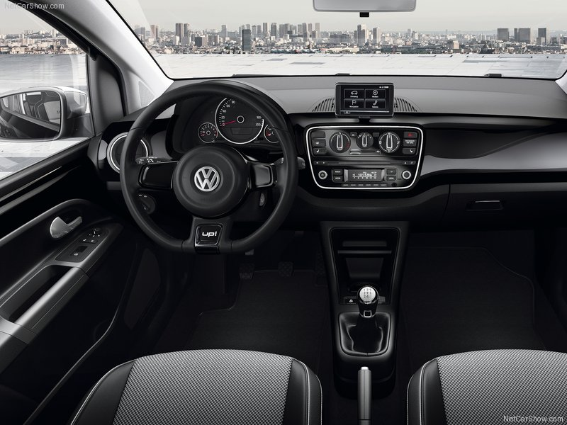 Volkswagen-Up interiors dashboard