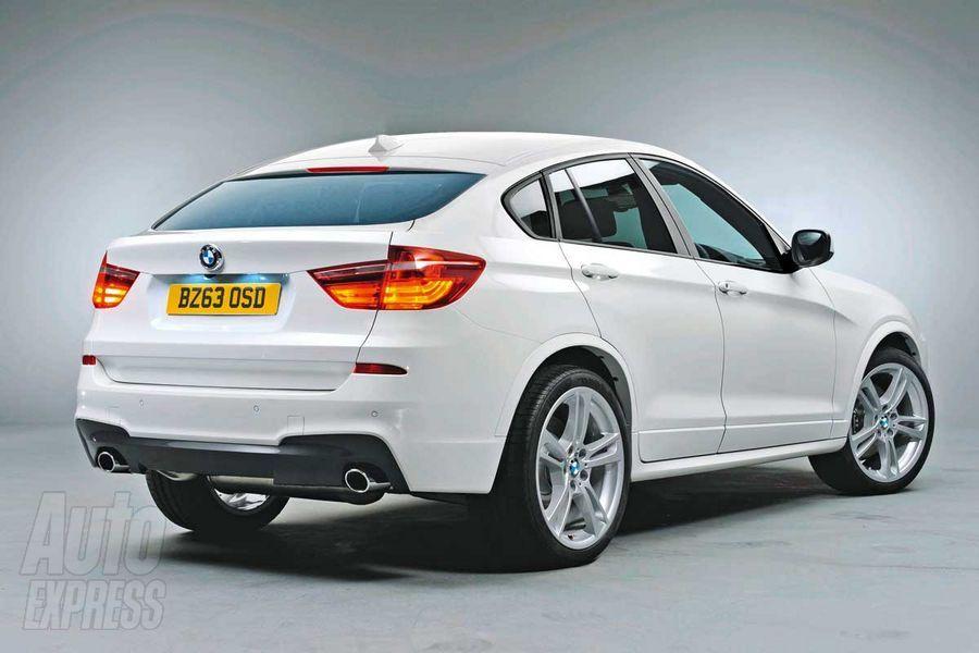 BMW X4 Rear