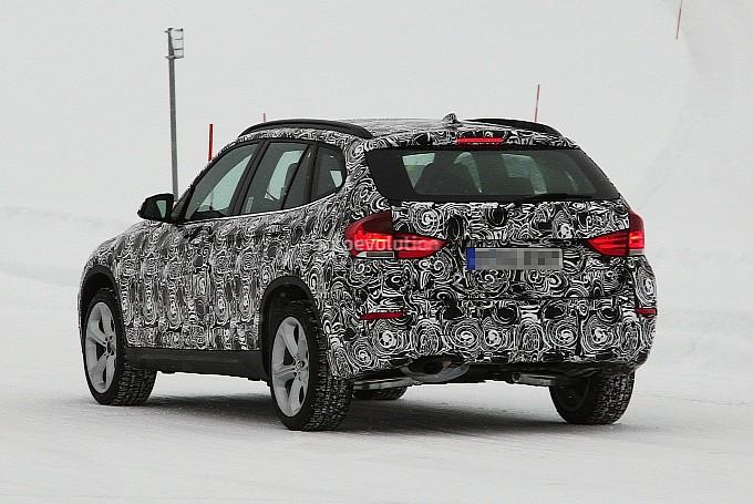 BMW X1 facelift rear