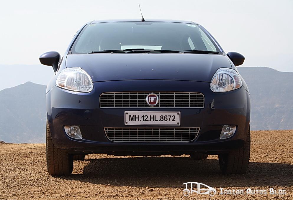 2012 Fiat Grande Punto front profile