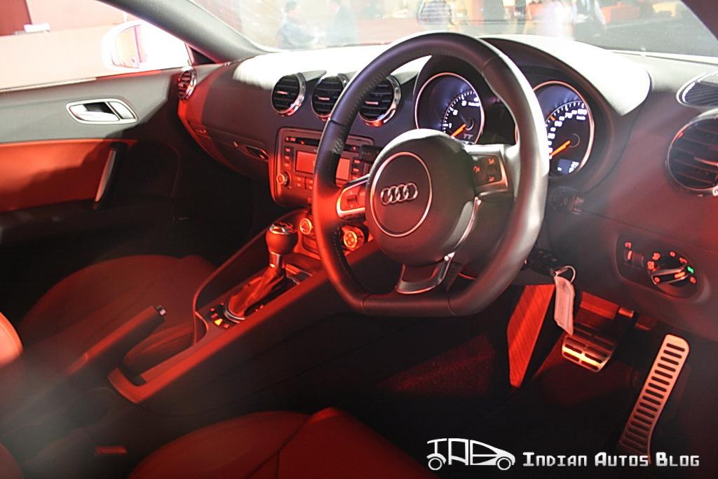 Audi TT interiors