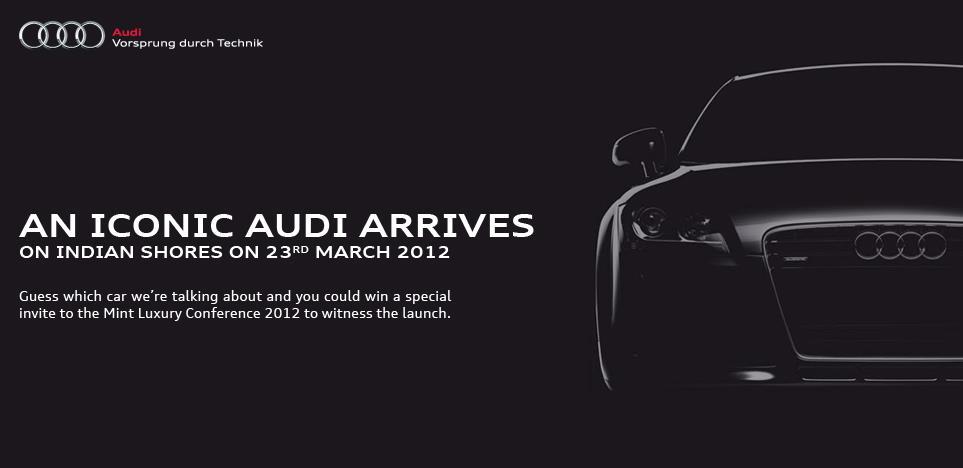 Audi TT facelift India