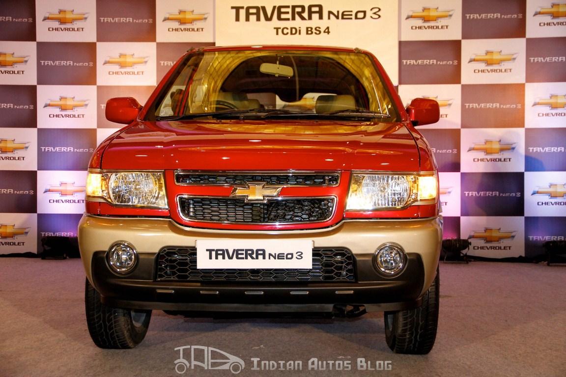 Chevrolet Tavera Neo3 front fascia