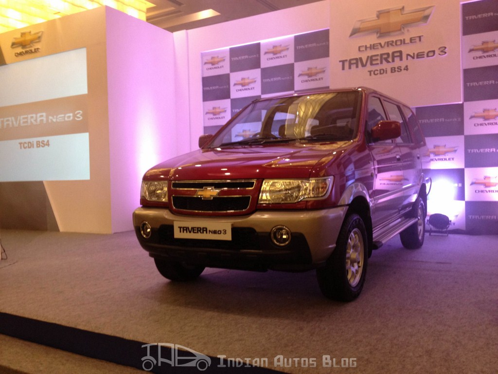 Chevrolet Tavera Neo3 launch