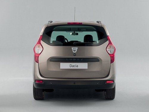 Dacia Lodgy rear profile