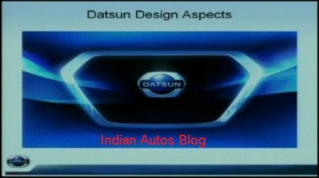 Datsun grille