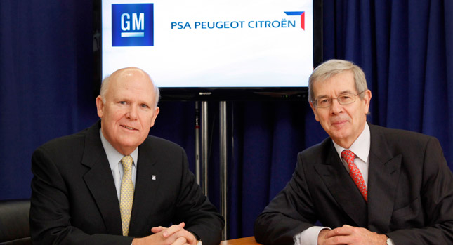 GM PSA partnership