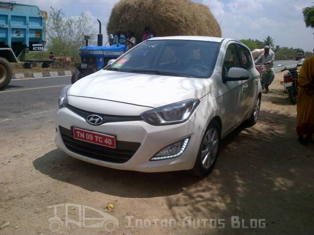 Hyundai i20 facelift front